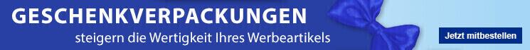 Geschenkverpackung für Kugelschreiber - Erfolgreiche Werbeartikel im BETTMER Onlineshop