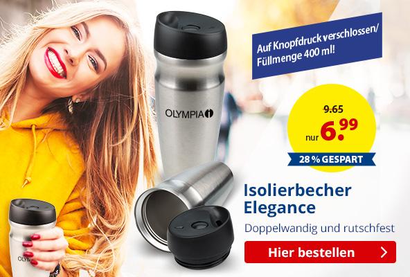 Doppelwandiger Edelstahl-Isolierbecher- Elegance  BETTMER - Erfolgreiche Werbeartikel