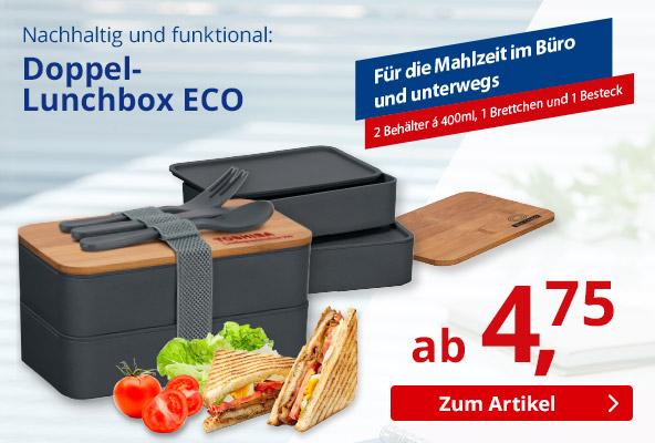 Doppel-Lunchbox – BETTMER - Erfolgreiche Werbeartikel