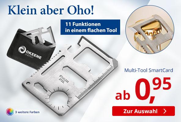 Multi-Tool SmartCard – BETTMER - Erfolgreiche Werbeartikel