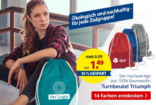 Turnbeutel Triumph – BETTMER Erfolgreiche Werbeartikel