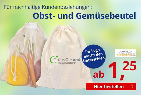 Baumwoll Veggie Bag – BETTMER Erfolgreiche Werbeartikel
