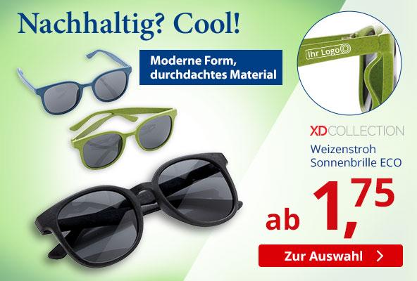 Weizenstroh Sonnenbrille ECO – BETTMER - Erfolgreiche Werbeartikel