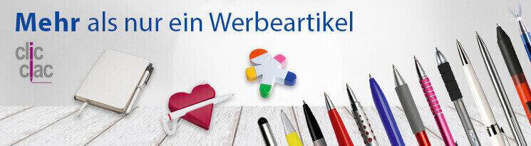 Hochwertige ClicClac Büro-Werbeartikel - Erfolgreiche Werbeartikel im BETTMER Onlineshop