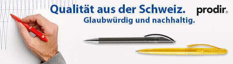 Hochwertige Prodir Kugelschreiber - Erfolgreiche Werbeartikel im BETTMER Onlineshop