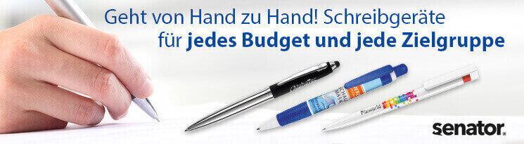 Hochwertige Senator Kugelschreiber & Tassen - Erfolgreiche Werbeartikel im BETTMER Onlineshop