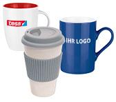 Tassen günstig mit Logo bedrucken – BETTMER Erfolgreiche Werbeartikel
