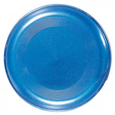 Wurfscheibe Space Flyer 22, metallic-blau