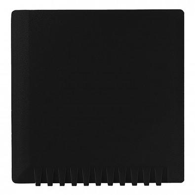 Eiskratzer Quadrat ohne Wasserabstreifer, schwarz