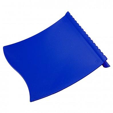 Eiskratzer Wave, standard-blau PP