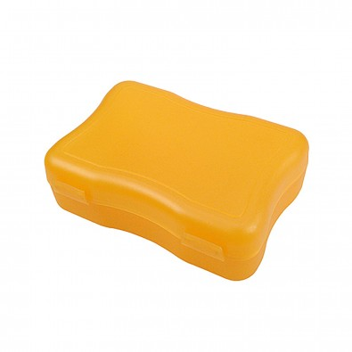 Brotzeitdose Wave, klein, trend-orange PP