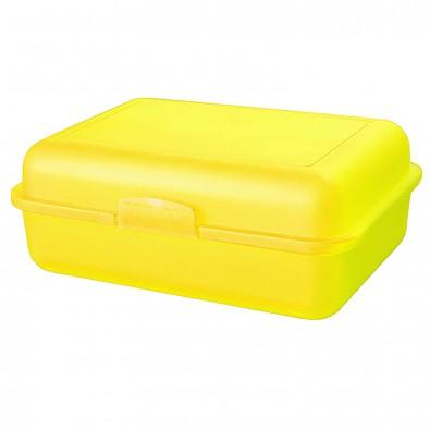 Vorratsdose School-Box groß, trend-gelb PP