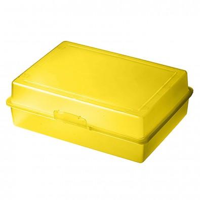 Vorratsdose Picknick trend-gelb PP
