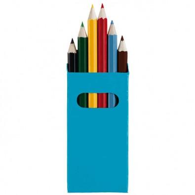 Buntstifte 6-teilig Blau
