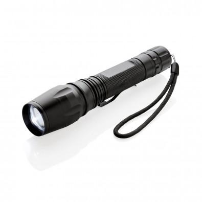 10W Cree Taschenlampe, schwarz