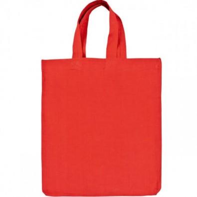 Mini-Baumwolltasche, Rot