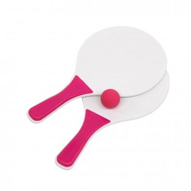 Beachball-Spiel Summer, Pink/Weiß
