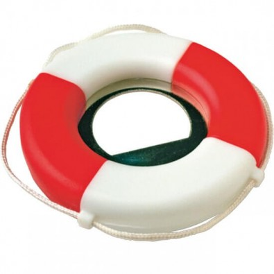 Kapselheber Rettungsring, Weiß