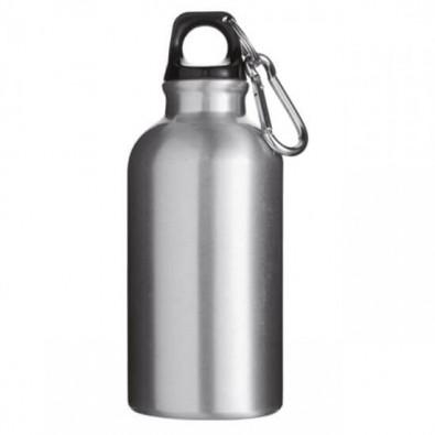 Trinkflasche Outdoor Silber