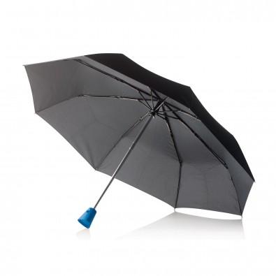 21,5'' Brolly 2 in 1 Automatik-Taschenschirm, blau,schwarz