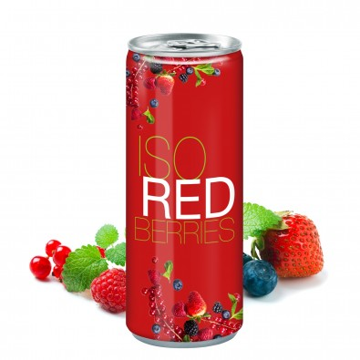 250 ml Iso Drink Redberries - Fullbody