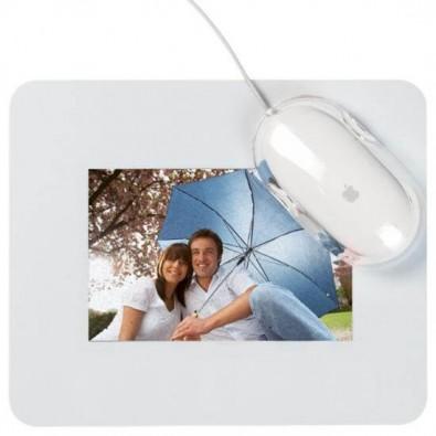 Mousepad mit Einschubfach, Weiß