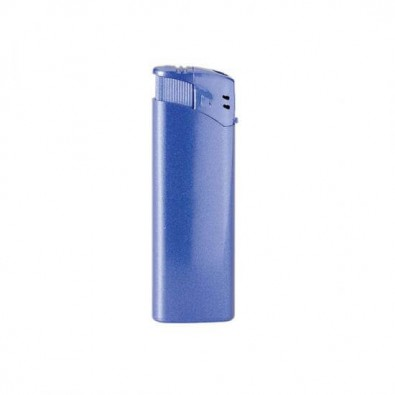 Piezo Metallic-Feuerzeug Blau