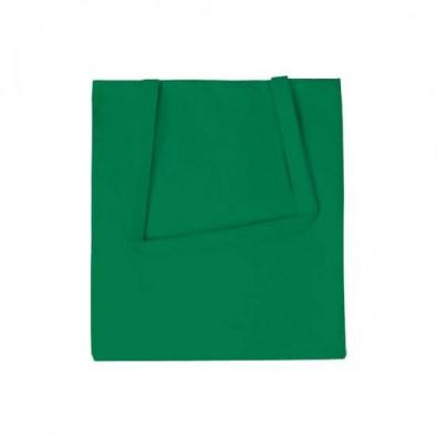 Vliestasche Textile mit langen Henkeln Grün