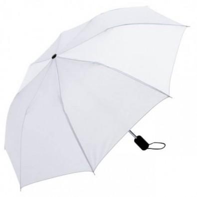 Taschenschirm Weiß