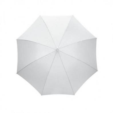Automatik-Stockschirm Rain Weiß