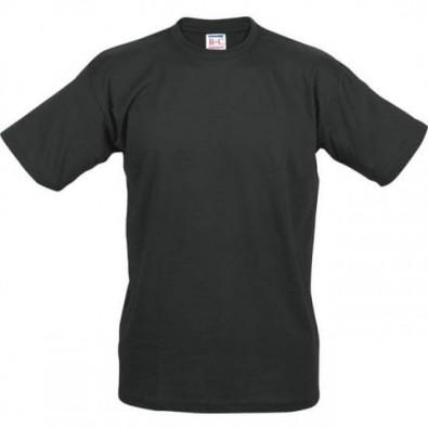 B&C Collection Unisex T-Shirt, schwarz, XXL
