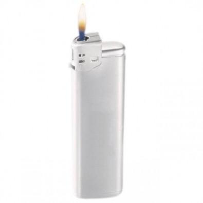 Nachfüllbares Piezo-Feuerzeug Silber