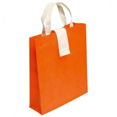 Faltbare Einkaufstasche, Orange