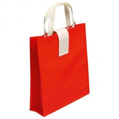 Faltbare Einkaufstasche, Rot