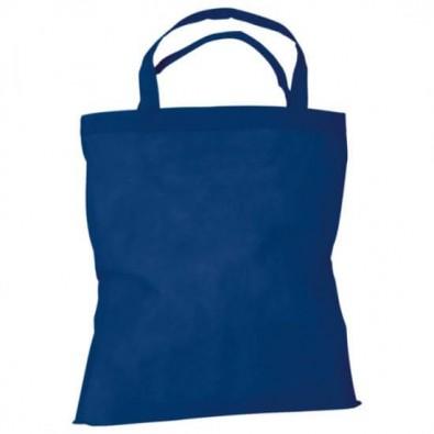 Joytex® Vliestasche Textile mit kurzen Henkeln, Marine
