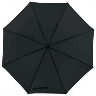 Portierschirm mit Hülle, Schwarz