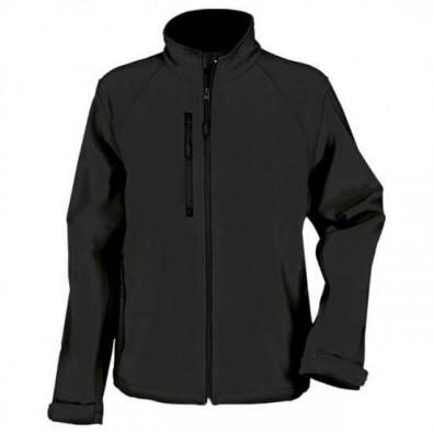 SoftShell Jacke für Sie und Ihn Schwarz | XS