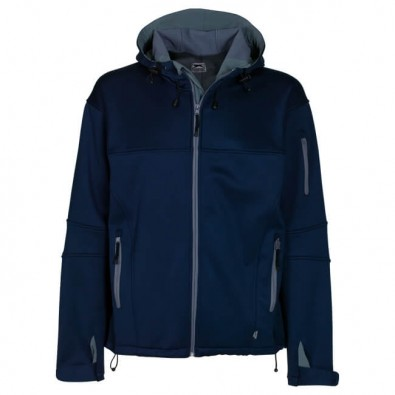 Original Slazenger SoftShell-Jacke Navy/Grau | XL