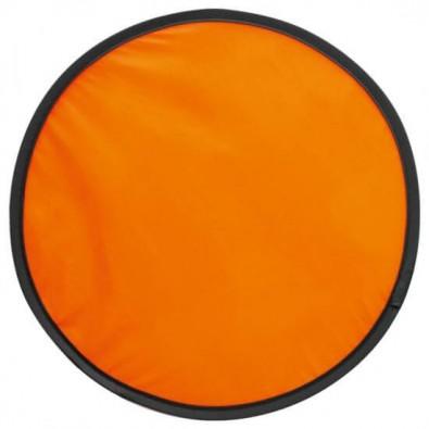 Wurfscheibe in Hülle, Orange