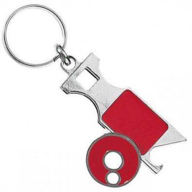 Schlüsselanhänger Paul, Rot