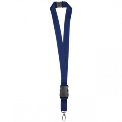 Schlüsselband, 25 mm, Navy