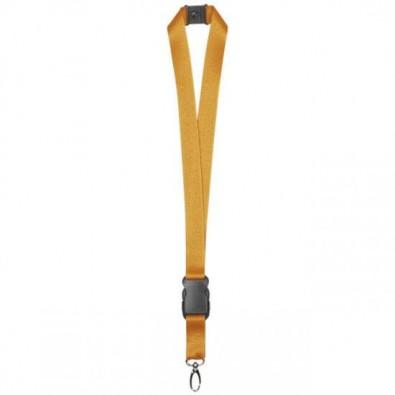 Lanyard Schlüsselband, 20 mm, Orange