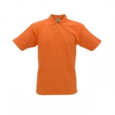Original James  Nicholson Polo-Shirt, Orange, L