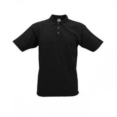 Original James  Nicholson Polo-Shirt, Schwarz, XXXL