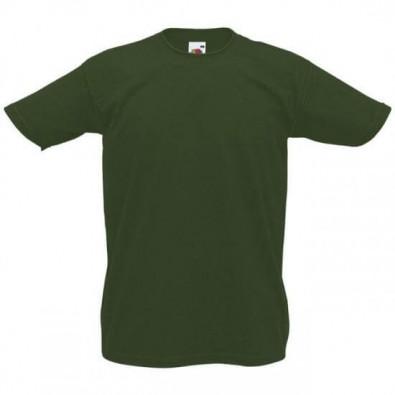 Original Fruit of the Loom T-Shirt Grün | M