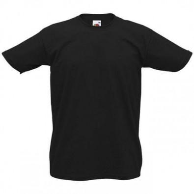 Original Fruit of the Loom T-Shirt Schwarz | XL