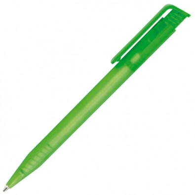 Senator® Druckkugelschreiber Frosted Transparent Grün