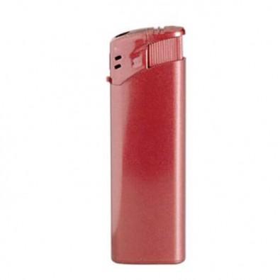 Piezo Metallic-Feuerzeug, Rot