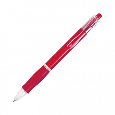 Kugelschreiber Atlantis Rot/Frosted
