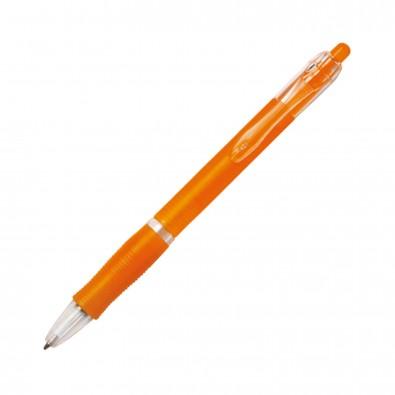 Kugelschreiber Atlantis, Orange/Frosted